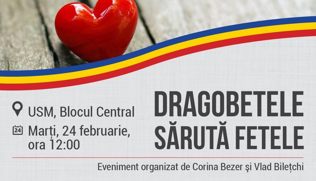 (FOTO) 24 FEBRUARIE – De Dragobete Iubește Românește