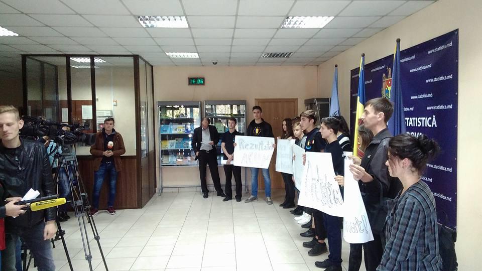 Protest la Biroul Național de Statistică – cerem rezultatele recensământului