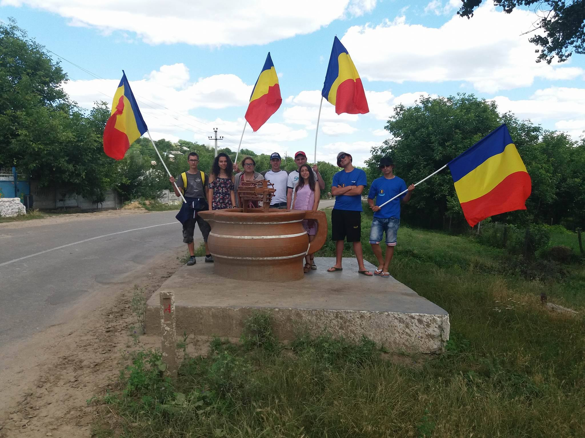 (FOTO/VIDEO) Caravana Unirii a ajuns la Cimișlia
