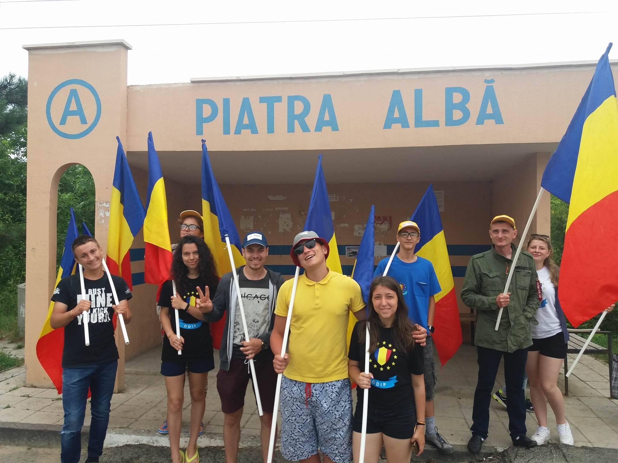 Caravana Unirii a ajuns în peste 25 de localități din Republica Moldova
