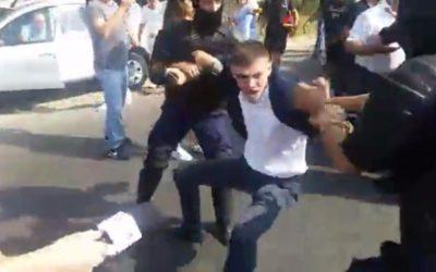 (VIDEO) Unioniștii condamnă violențele poliției și îi vor ataca în judecată