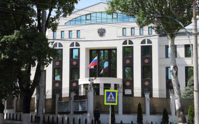 os Propaganda, Sus Unirea! Unioniștii au organizat un flashmob în fața Ambasadei Federației Ruse