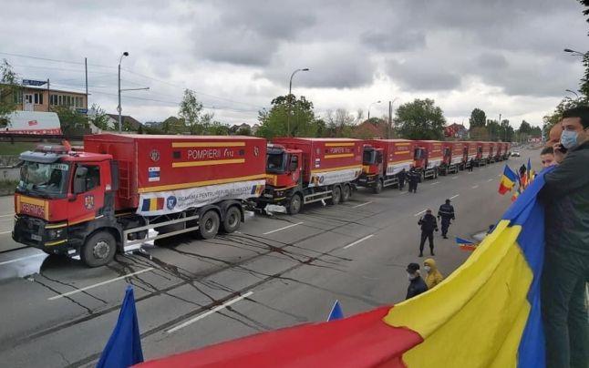 Dosarul unioniștilor privind amenda de 22 500 de lei pentru întâmpinarea ajutoarelor românești, în instanță
