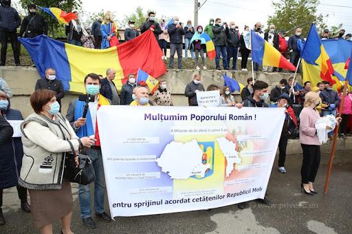 Victorie pentru unioniști! Amenda de 22 500 de lei pentru întâmpinarea ajutoarelor românești, declarată ilegală